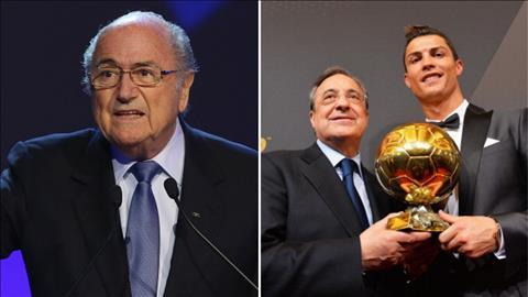 Cựu chủ tịch FIFA xin lỗi Ronaldo và Real Madrid vì lỡ khen Messi hình ảnh
