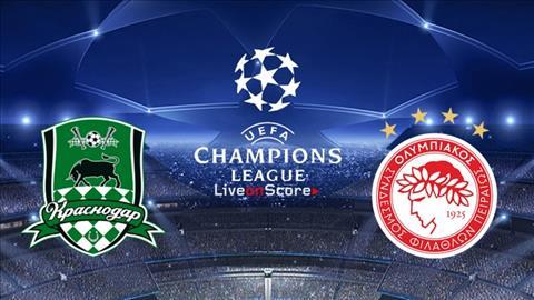 Krasnodar vs Olympiacos 2h00 ngày 288 Champions League 201920 hình ảnh