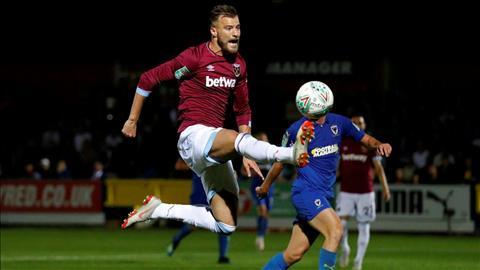 Newport County vs West Ham 1h45 ngày 288 Cúp Liên đoàn Anh 201920 hình ảnh