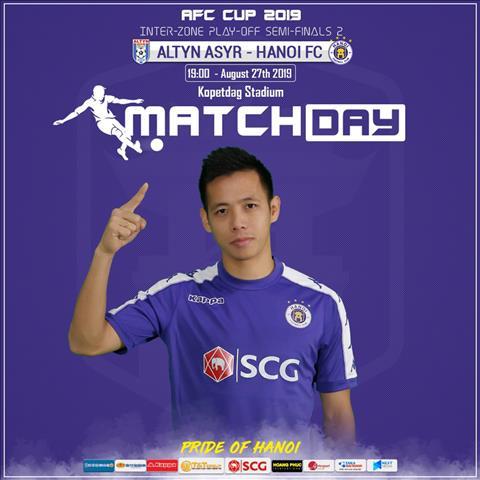 Trực tiếp bóng đá hôm nay Hà Nội vs Altyn Asyr AFC Cup 2019 hình ảnh