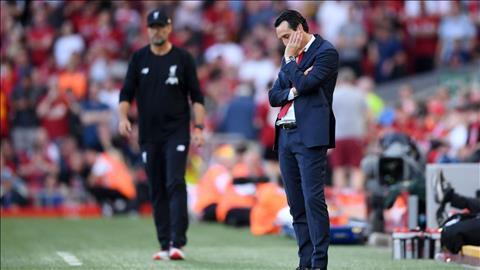 HLV Emery bị chỉ trích vì chiến thuật ở trận thua Liverpool hình ảnh