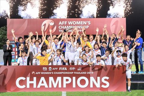Vô địch Đông Nam Á, tuyển nữ Việt Nam được thưởng 1,3 tỷ VNĐ hình ảnh