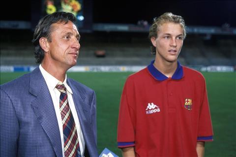 Jordi Cruyff và câu chuyện về Người cha tinh thần của Barcelona hình ảnh