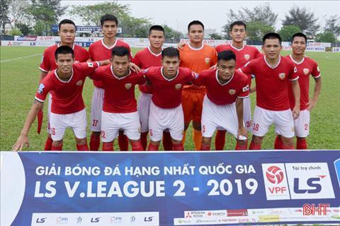 Tân binh Hồng Lĩnh Hà Tĩnh đặt mục tiêu trụ hạng V-League 2020 hình ảnh