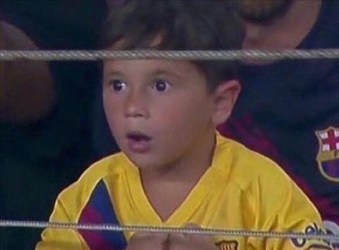 Cau ut nha Messi
