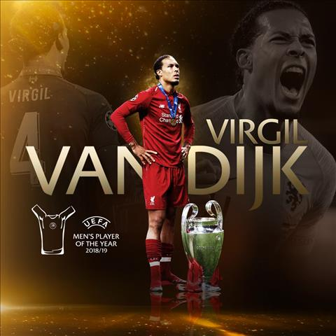 Van Dijk - Cau thu xuat sac nhat chau Au mua giai 2019/20