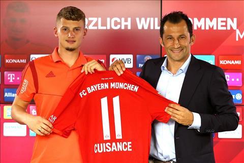 Tân binh Mickael Cuisance của Bayern Munich mang tiếng xấu nổi loạn hình ảnh