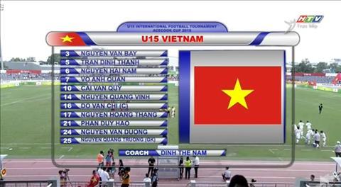 Trực tiếp U15 Việt Nam vs U15 Hàn Quốc 16h30 ngày hôm nay 308 hình ảnh