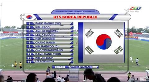 U15 Việt Nam 2-3 U15 Hàn Quốc (KT) Thi đấu tuyệt vời, U15 Việt Nam vãn thất bại tiếc nuối hình ảnh 2