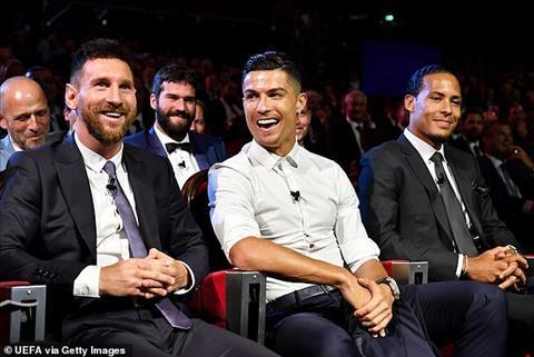 Ronaldo và Messi rủ nhau đi ăn tối hình ảnh