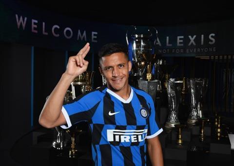Alexis Sanchez chinh thuc toi Inter Milan