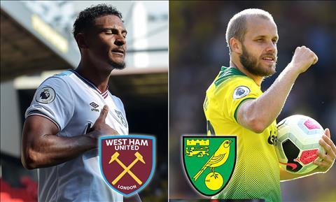 West Ham vs Norwich 21h00 ngày 318 Premier League 201920 hình ảnh