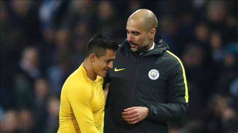 Alexis Sanchez bất ngờ được Pep Guardiola bảo vệ hình ảnh
