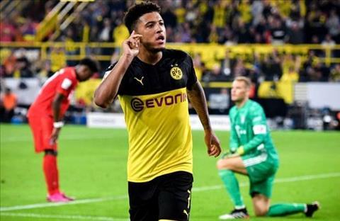 Dortmund muốn gia hạn hợp đồng với Jadon Sancho hình ảnh