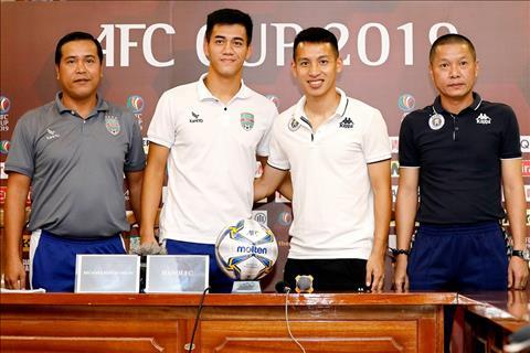 Chung kết AFC Cup Nhà vô địch AFF Cup thách thức Hà Nội FC hình ảnh