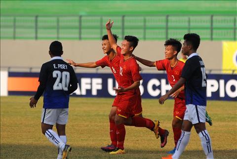 U15 Việt Nam vs U15 Indonesia 15h00 ngày 98 U15 Đông Nam Á 2019 hình ảnh