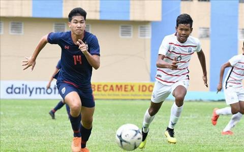 U18 Thai Lan vs U18 Campuchia