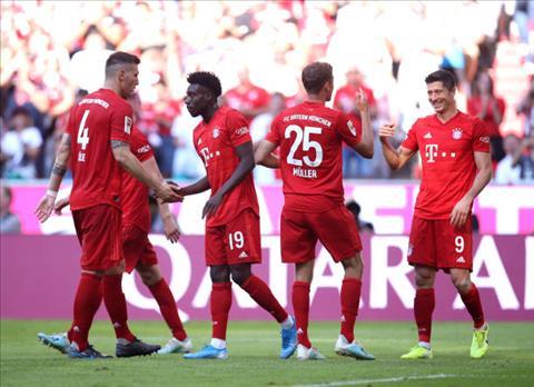 Bayern Munich 6-1 Mainz Siêu tân binh Coutinho bị che mờ bởi hàng chữa cháy Perisic hình ảnh 3