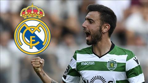 Bruno Fernandes sắp đến Real Madrid với giá 70 triệu euro hình ảnh