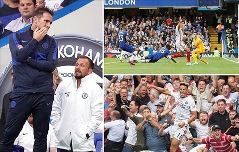 Chelsea vs Sheffield United 2-2 Giấc mơ nghiệt ngã của Frankie hình ảnh