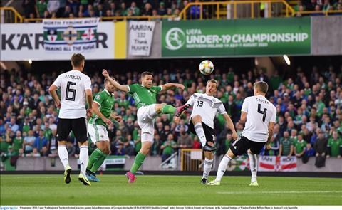 Bắc Ireland 0-2 Đức Hạ gục kẻ thách thức, Mannschaft vươn lên dẫn đầu bảng C vòng loại Euro 2020 hình ảnh 2