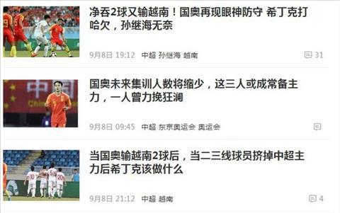 Báo Trung Quốc vẫn chưa thể chấp nhận thất bại trước U22 Việt Nam hình ảnh
