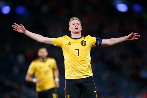 Tiền vệ De Bruyne đạt cột mốc kiến tạo mới tại vòng loại EURO 2020 hình ảnh