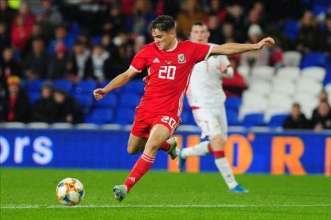 Daniel James tiếp tục ghi bàn trong màu áo ĐT xứ Wales hình ảnh