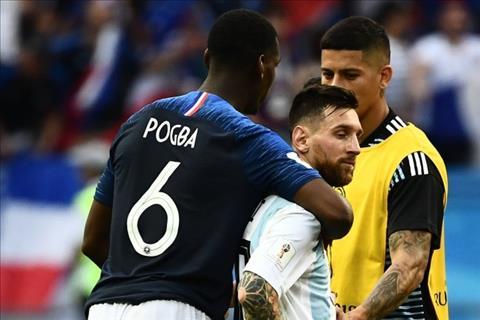 Tiền vệ Paul Pogba hỏi thăm Messi để gia nhập Barca  hình ảnh