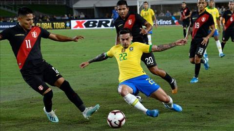 Marquinhos và Fagner bao biện sau trận thua Brazil 0-1 Peru hình ảnh