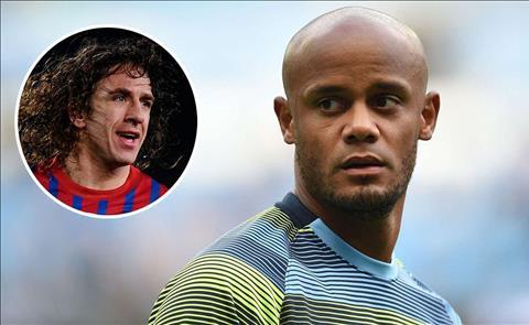 Đồng đội cũ so sánh Vincent Kompany với huyền thoại Barca hình ảnh