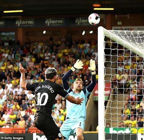 Sergio Aguero lập kỷ lục sau trận thua Norwich hình ảnh