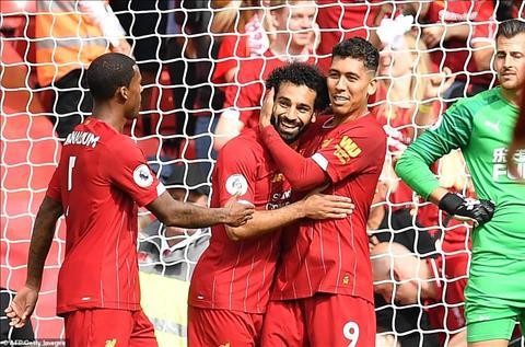Liverpool thang Newcastle