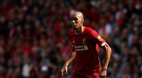 Tiền vệ Fabinho đã vươn lên đẳng cấp thế giới ở Liverpool hình ảnh