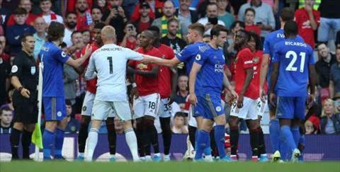HLV Brendan Rodgers phát biểu sau trận MU vs Leicester hình ảnh