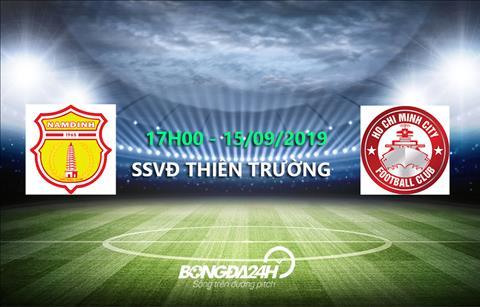 Trực tiếp bóng đá hôm nay Nam Định vs TPHCM link xem ở đâu hình ảnh