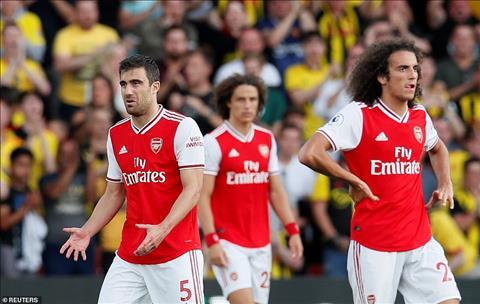 Arsenal 2-2 Watford Pháo Thủ trả giá đắt vì lạm dụng luật mới hình ảnh