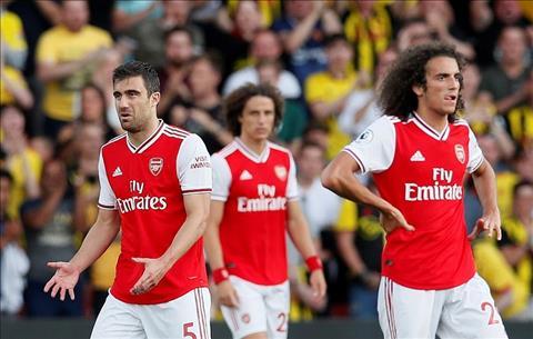 Các cầu thủ Arsenal thất vọng với HLV Emery hình ảnh