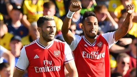 Dư âm Arsenal 2-2 Watford Cú đúp của Aubameyang và hàng thủ thảm họa hình ảnh 2