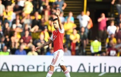 HLV Emery giải thích lý do thay Ceballos ra sớm ở trận hòa Watford hình ảnh