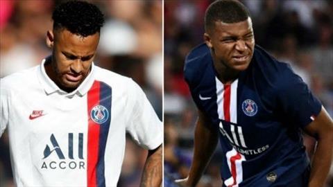 Neymar va Mbappe khong ra san truoc Real Madrid