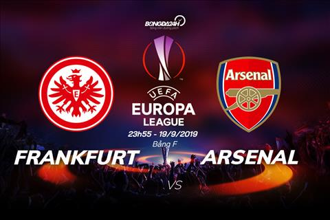 Trực tiếp Frankfurt vs Arsenal Cúp C2 châu Âu 20192020 hôm nay hình ảnh