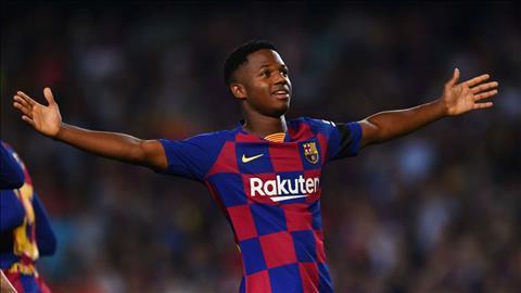 Barca muốn ký hợp đồng mới với Ansu Fati hình ảnh