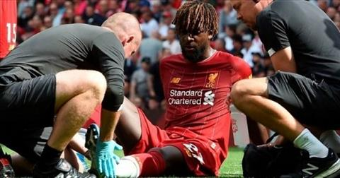Divock Origi dính chấn thương, lỡ trận gặp Napoli hình ảnh