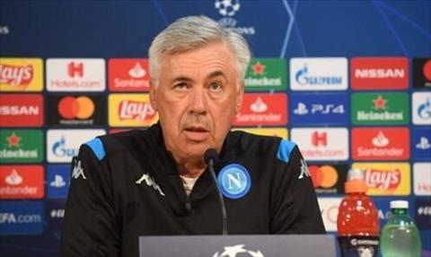 HLV Ancelotti phát biểu trước trận Napoli vs Liverpool hình ảnh