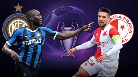 Inter Milan vs Slavia Praha 23h55 ngày 179 Champions League 201920 hình ảnh