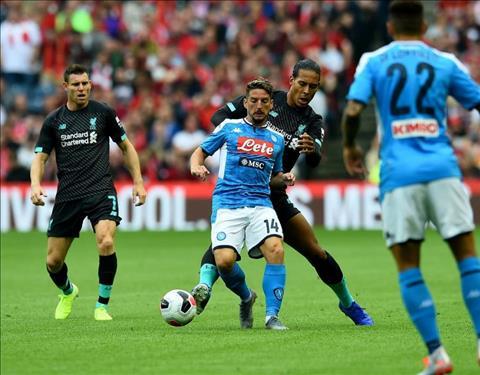 Napoli danh bai Liverpool 1-0 tren san nha o mua giai truoc