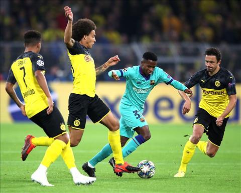 Dortmund 0-0 Barca Messi tái xuất, Blaugrana vẫn suýt đứt tại nước Đức hình ảnh 3