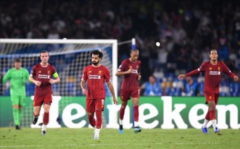 Dư âm Napoli 2-0 Liverpool Lữ đoàn đỏ lại mắc dớp San Paolo hình ảnh