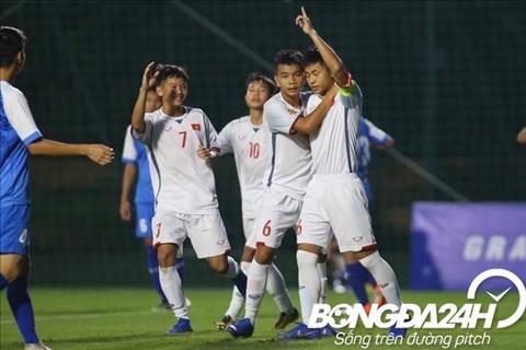 Kết quả U16 Việt Nam vs U16 Mông Cổ vòng loại U16 châu Á 2020 hình ảnh